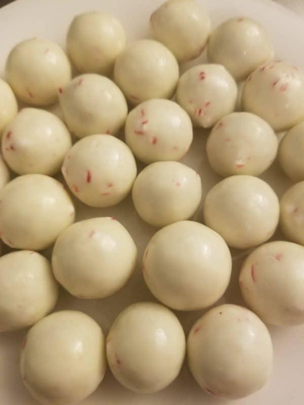 Peppermint Malted Milk Balls