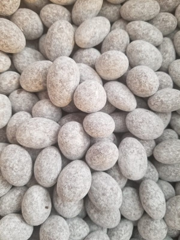 Powdered Chocolate Toffee Almonds
